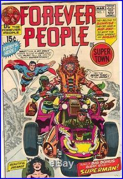 Forever People 1 DC 1971 FN 1st Darkseid Superman Jack Kirby