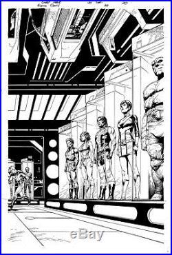 Gary Frank & Jon Sibal Superman Legion of Superheroes Original Comic Art 859 p20