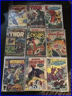 Golden Age To Modern Comic Book Lot Marvel/dc And More 90 Comics In Total