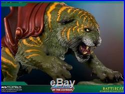 HE-MAN & BATTLECAT COMBO EXCLUSIVE 1/4 STATUE Ltm 300 Pop Culture Shock PCS Bust