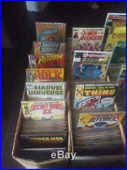 Huge Comic Book Lot 2000+ Marvel DC Indy Superman Batman X-men Spiderman