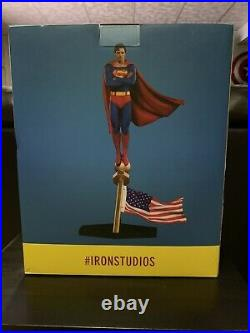Iron Studios DC Comics Superman 1978 Deluxe Art Scale Statue