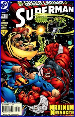 Jeph Loeb Superman 159 Paul Pelletier Original Art Green Lantern Maxima Massacre