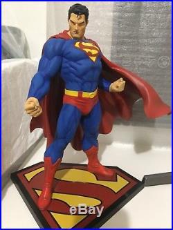 Kotobukiya Superman for Tomorrow ArtFX figure PVC Statue USED, Lost Original Box