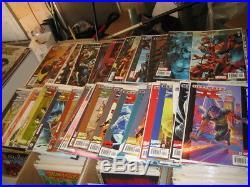 Large Comic Collection Marvel DC Indi Spiderman Xmen Hulk Batman Superman Comics