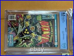 Large comic book lot, Tons of Keys and sets. Also a number of SLABBED books