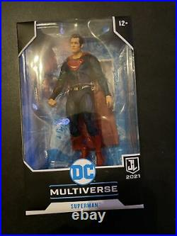 McFarlane DC Multiverse SUPERMAN Snyder Justice League Target Exclusive Red Blue