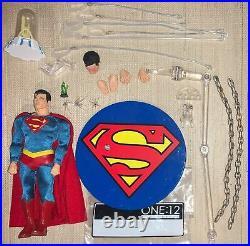 Mezco One 12 112 Collective Superman Authentic Classic Edition Figure Complete
