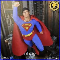 Mezco Superman 1978 Edition Christopher Reeve ONE12 COLLECTIVE IN HAND