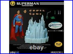 Mezco Toyz One 12 Collective 1978 Christopher Reeves Superman Figure New Rare