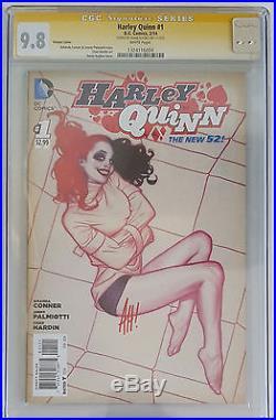 NEW 52 HARLEY QUINN #1 ADAM HUGHES VARIANT CGC SS 9.8 ADAM HUGHES