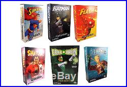 NEW DC Direct 13 Deluxe Collector Figures Lot Batman Superman Flash Shazam JLA