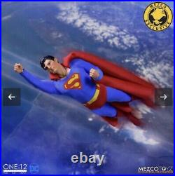 New Mezco ONE 12 COLLECTIVE Superman 1978 Edition LIMITED EDITION