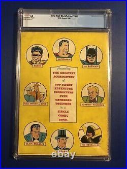 New York World's Fair #1940 (1940, DC) CGC 6.0 RARE 1st SUPERMAN BATMAN ROBIN