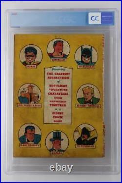 New York World's Fair #1940 CGC 0.5 PR- DC 1st Superman/Batman/Robin Cover