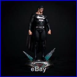 Pre Order Private Custom Black SuperMan 1/4 Scale Ploystone Statue 4/30 ship