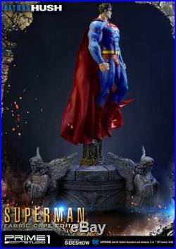 Prime 1 Studio DC Comics Batman Hush Superman Fabric Cape Statue New
