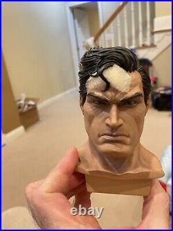 Prime 1 Studios Superman Hush Statue Head Sculpts Only- Fabric Cape Edition