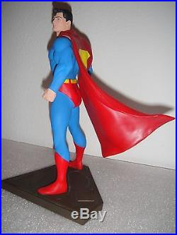 RANDY BOWEN SUPERMAN FULL SIZE STATUE MAQUETTE Seinfeld DC Comics JLA Bust