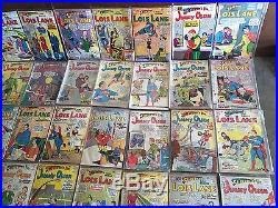 Rare Lot 81 DC Silver Age Superman's Girlfriend Lois Lane Pal Jimmy Olsen Wow