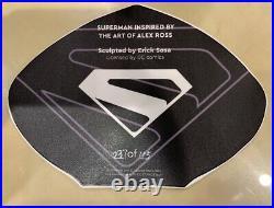 Rare Custom Fan Art Prototype Z Superman Statue Kit 1/4 Scale
