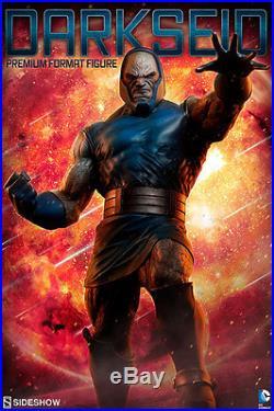 SEALED SIDESHOW DARKSEID Premium FORMAT FIGURE EXCLUSIVE STATUE Superman BATMAN
