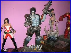 SIDESHOW COLLECTIBLES LOBO PREMIUM FORMAT STATUE- lower price