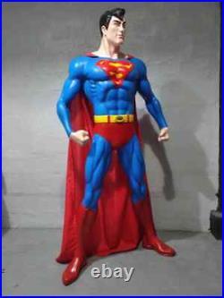 SMCBV SUPERHERO 6 FEET LIFE SIZE 1/1 SCALE CUSTOM STATUE fan art finet