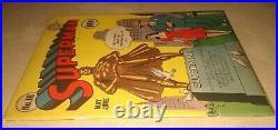 SUPERMAN #16 Golden Age Cover DC Comics 1942 Lois Lane Cover VF CONDITION