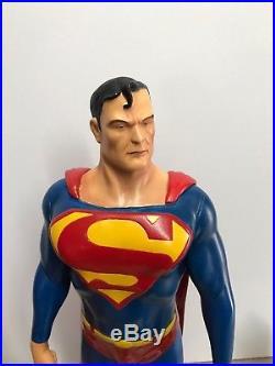 SUPERMAN 21 STATUE based Ross art Joseph Lo Mahusay Sculpt 14 Philippines Rare