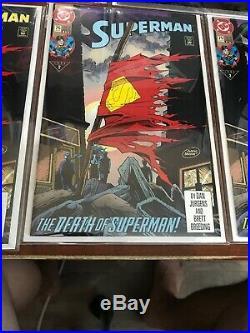 SUPERMAN #75 PLATINUM EDITION Sealed Plus Bonus 1st 3rd 4th Prints
