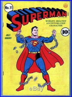 SUPERMAN COMICS #11 Superman 1941 1/2 pg Ad for All-Flash Quarterly #1