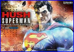 SUPERMAN HUSH 13 STATUE Batman JUSTICE LEAGUE DC Comic BOOK Prime 1 519/1500