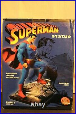 SUPERMAN JIM LEE DC Direct FULL SIZE STATUE LIMITED EDITION #5429 Of 6500