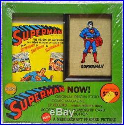 SUPERMAN NOW! ORIGIN STORY GOLDEN RECORDS SET FACTORY SEALED MIP Vintage 1966