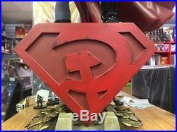 SUPERMAN RED SON PREMIUM FORMAT FIGURE STATUE DC SIDESHOW COLLECTIBLES batman