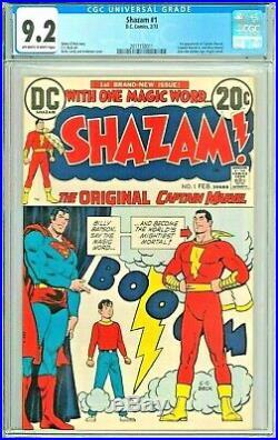 Shazam! #1 CGC 9.2 NM- 1st Appearance of Shazam Since Golden Age