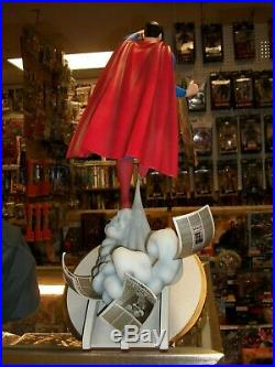 Sideshow Collectibles DC Comics SUPERMAN Animated Series Statue #22/1000 NEW