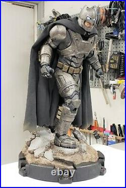 Sideshow DC Armored Batman v Superman Dawn of Justice BVS Premium Format Figure