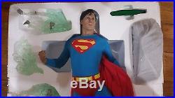 Sideshow Superman Christopher Reeve Premium Format Figure Statue Exclusive Ex