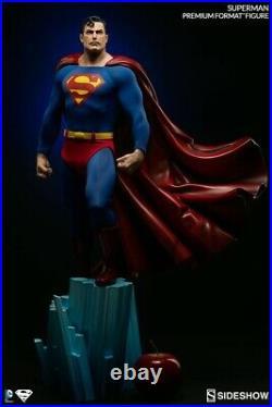 Sideshow collectibles superman Premium Format pf 1/4 Scale Collectors Edition