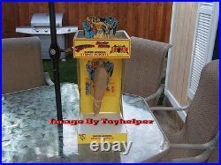 Super Heroes String Puppets Superman Wonder Woman Batman Store Display NIB 1978