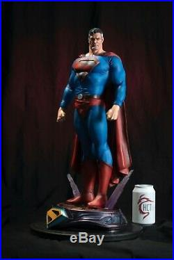 Super Man Statue Art / Nt XM Sideshow Prime / DC Comics / Prototypez Eric Sosa