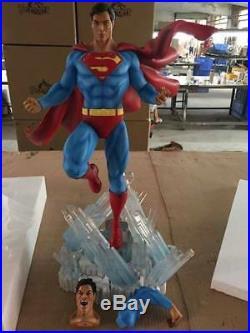 Super Man Statue Sculpture Art / Nt XM Sideshow Prime 1 / DC Comics / 1 of 50