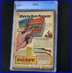 Superboy #1 (DC Comics 1949) CGC 1.5 Rare Golden Age Key! Superman Comic