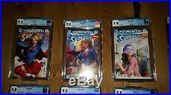 Supergirl #12-20 Cgc 9.8 Artgerm Variant Set 12, 13, 14, 15, 16, 17, 18, 19, 20