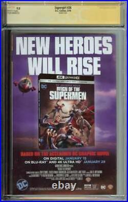 Supergirl #26 CGC SS 9.8 Auto Artgerm Signed Variant