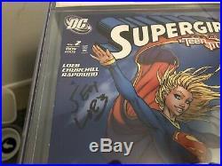 Supergirl #2 CGC Signature Series Michael Turner Signed