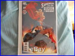 Supergirl And The Legion Of Super-heroes #23 Adam Hughes Variant Vf+/nm