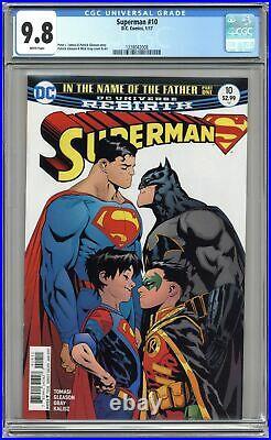 Superman #10A Gleason 1st Printing CGC 9.8 2017 1228042008
